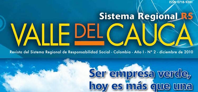 Revista Sistema Regional con Visión de Sostenibilidad y RS en Colombia. Valle del Cauca.